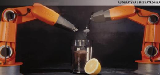 robot zaparzanie herbaty z cytryną